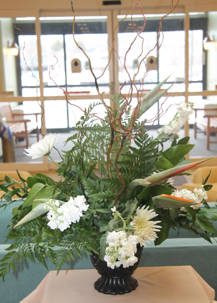 One of the Floral Committee's beautiful arrangements